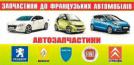 Автозапчастини до французьких та італійських автомобілів