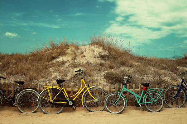 The best routes to discover Usedom by rental bike
