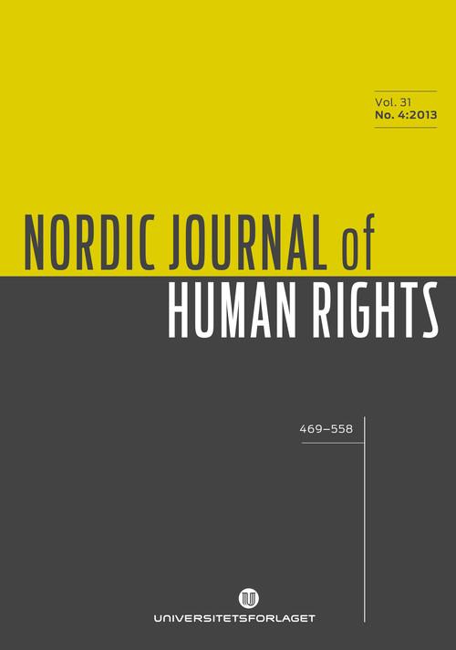 Nordic Journal of Human Rights | Tidsskrifter