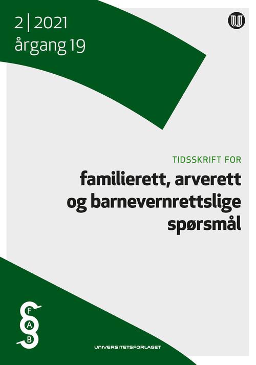 Tidsskrift for familierett, arverett og barnevernrettslige spørsmål | Tidsskrifter