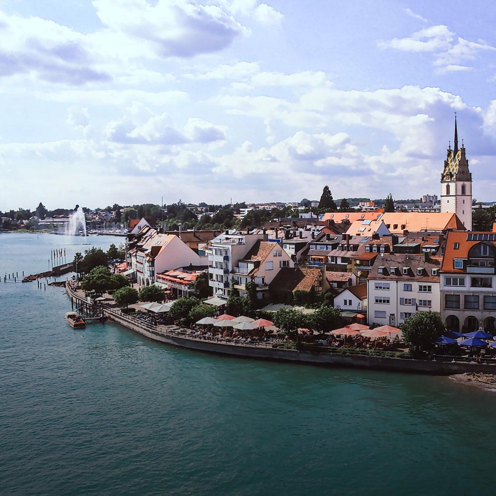 Stadtbild Landschaftsbild Friedrichshafen
