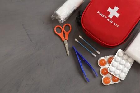 Met een EHBO-kit ben je goed voorbereid