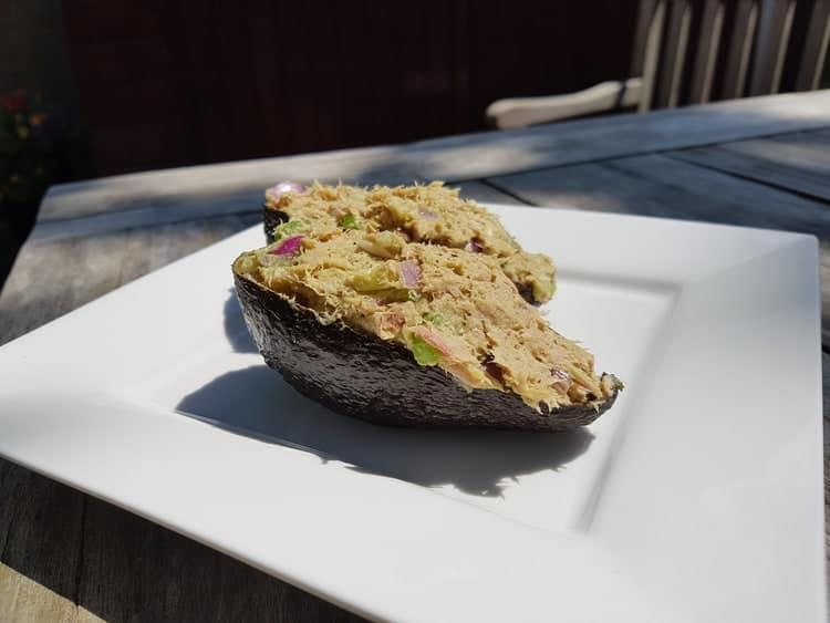Avocado tonijnsalade