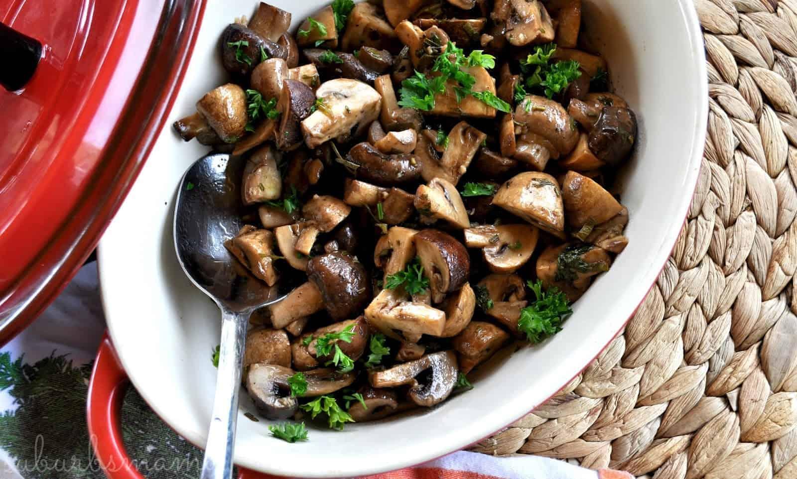 Balsamico champignons