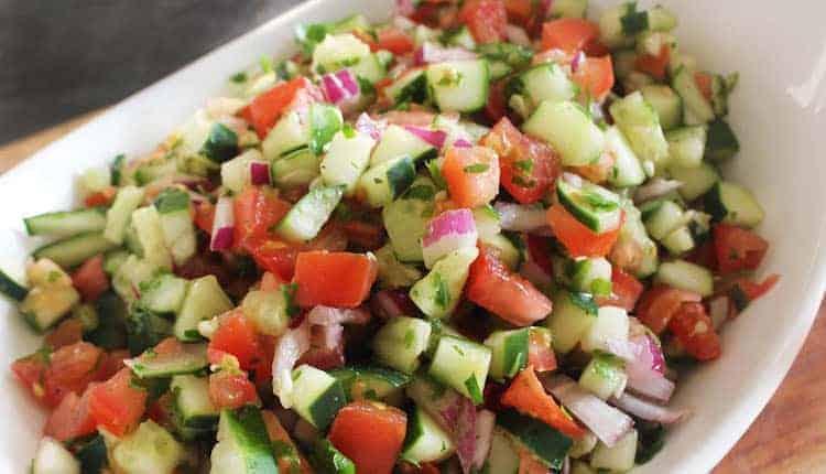 Frisse salade uit het Midden-Oosten