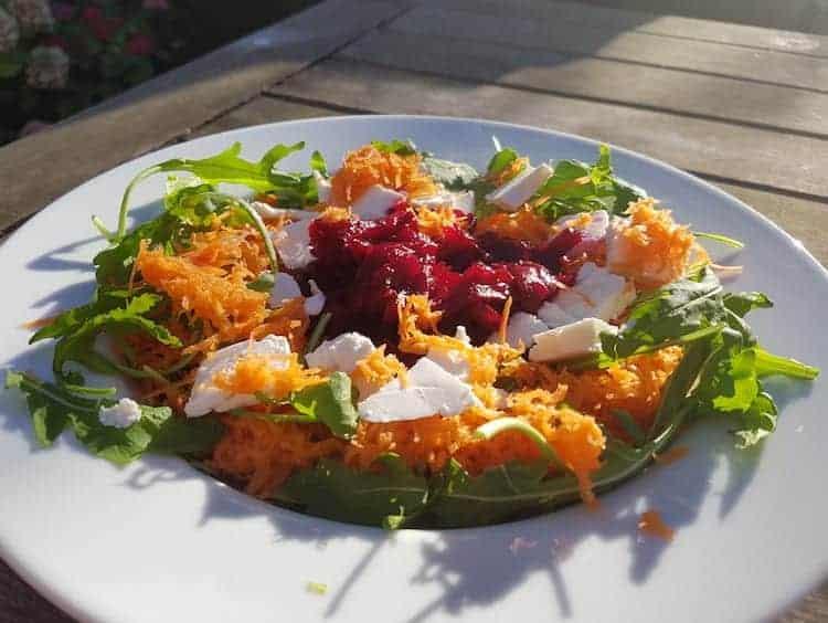 Koolhydraatarme detox salade
