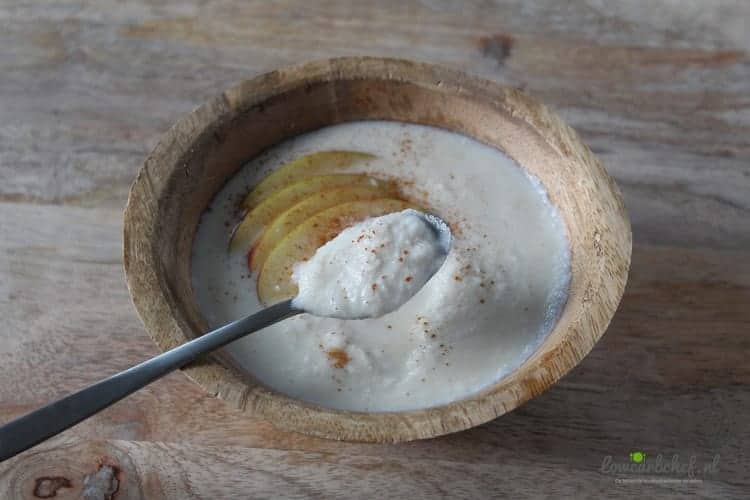 Koolhydraatarme kokospap