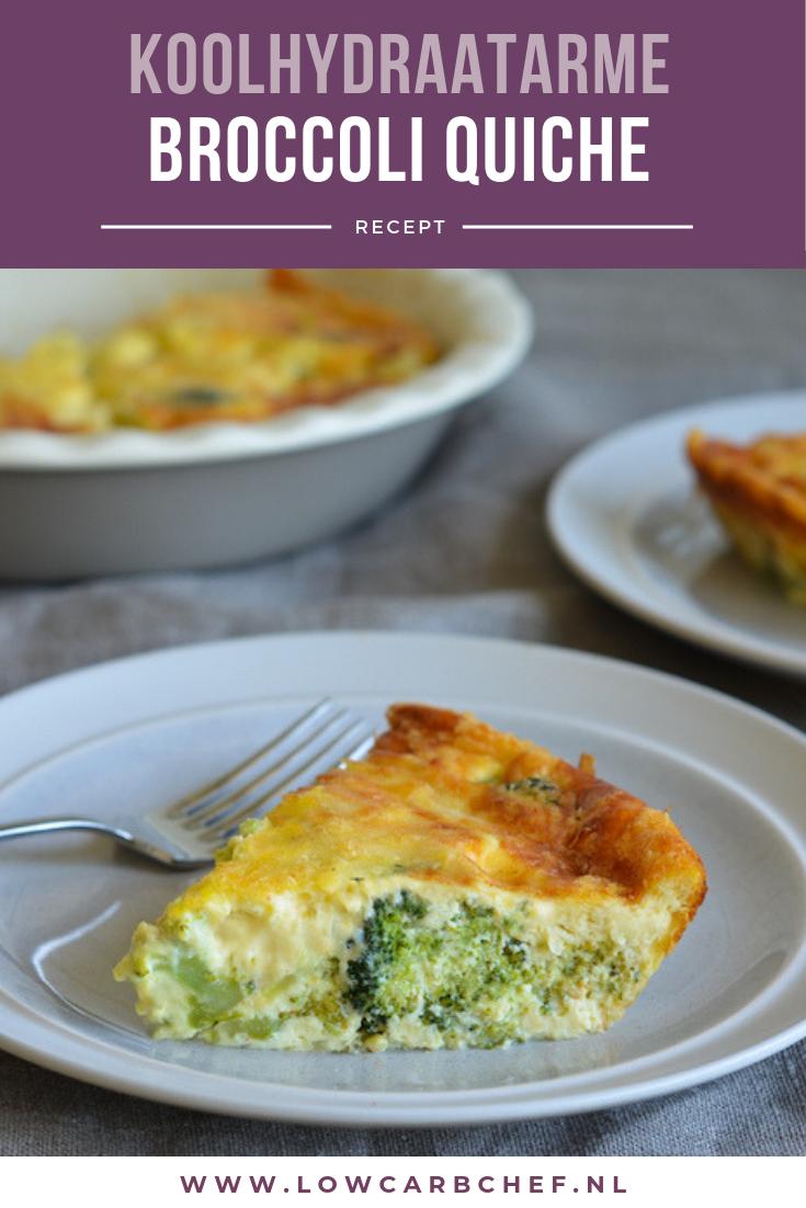 Vandaag deel ik met jullie een heerlijk recept voor een koolhydraatarme broccoli quiche. Deze quiche is lekker om te eten als lunch of makkelijke avondmaaltijd. #koolhydraatarm #quiche #broccoli #diner #gezond