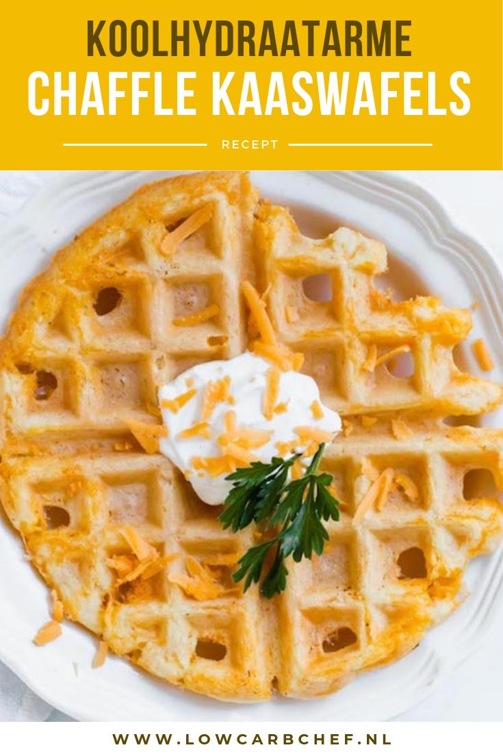 De nieuwste hype onder volgers van het koolhydraatarm dieet: chaffle wafels. Koolhydraatarme chaffle wafels zijn een heerlijk alternatief voor brood. #koolhydraatarm #chaffle #wafels #ontbijt #recepten