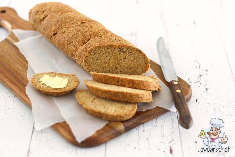 Stokbrood met boter.