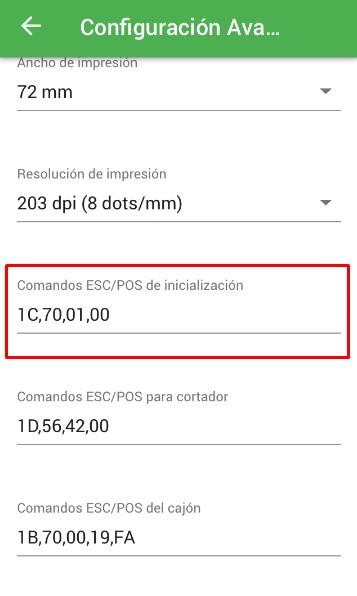 comandos ESC/POS para imprimir logo en un recibo