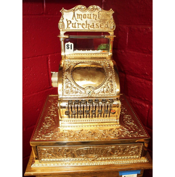 National Cash Register model 52 (golded)