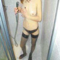 douchegirl zoekt een man
