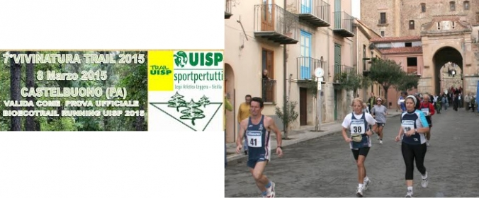 Domenica a Castelbuono  al via il VIVINATURA Trail, prima tappa del BIOECOTRAIL RUNNING