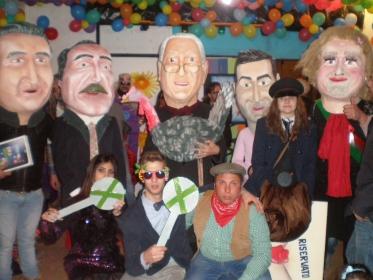 Carnevale 2015 – XXXII Concorso Peppe Nappa - Le maschere premiate