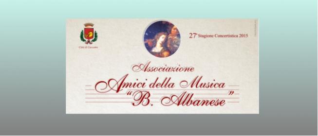 Amici delle Musica B.Albanese: Tango che passione