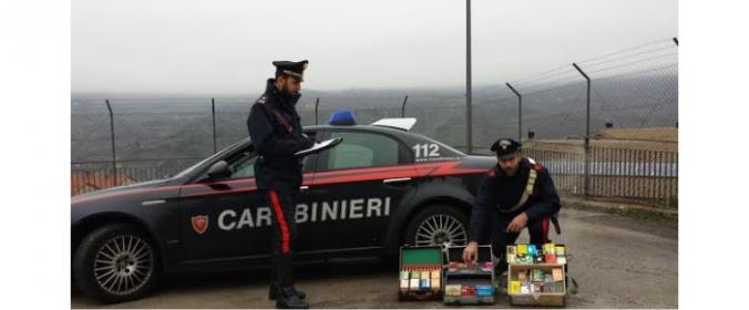I CARABINIERI DENUNCIANO 45ENNE PER DETENZIONE DI ARMI