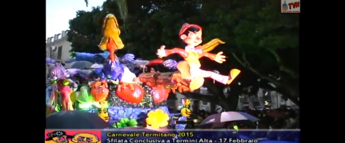 Concluso con successo il Carnevale Termitano 2015 (VIDEO)