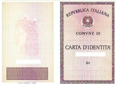 CARTA D'IDENTITA' CON VOLONTA' A DONARE GLI ORGANI