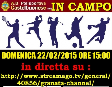 Castelbuonese - Messina in diretta streaming