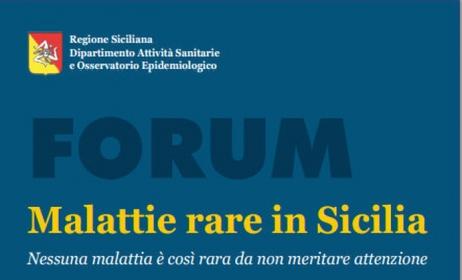 Assessorato Salute: Forum Malattie Rare