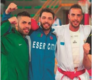 Karate, quattro atleti siciliani a Sharm El Sheikh  con la Nazionale italiana per la 'Karate1 Premier League'