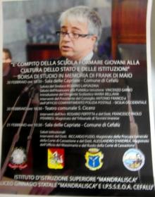 Mandralisca, Cittadini 'Leg... ali' col magistrato Frank Di Maio