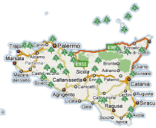 Cartina Sicilia Tematica.Madonielive Com Archivio On Line Tutti I Servizi Delle Aree Attrezzate In Sicilia