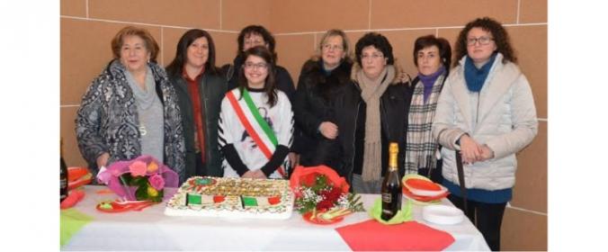 Insediamento del mini sindaco al comune di Blufi