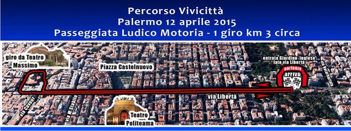 Podismo: il nuovo circuito del VIVICITTA' di Palermo 2015