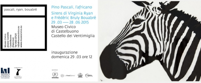 SAVE THE DATE 'Pino Pascali, l'africano' e 'Sirens' di Virginia Ryan e Frédéric Brouly Bouabré al Museo Civico di Castelbuono