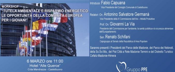 Ci sarà la Rai per il più grande workshop del centro-sud su tutela ambientale e Comunità Europea