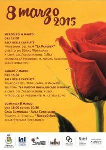 locandina 8 marzo