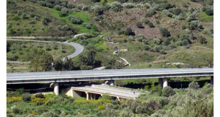 Viadotto Himera: lavori da completare