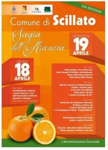sagra arancia scillato - locandina