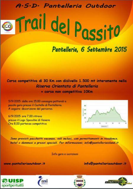 trail del passito pantelleria