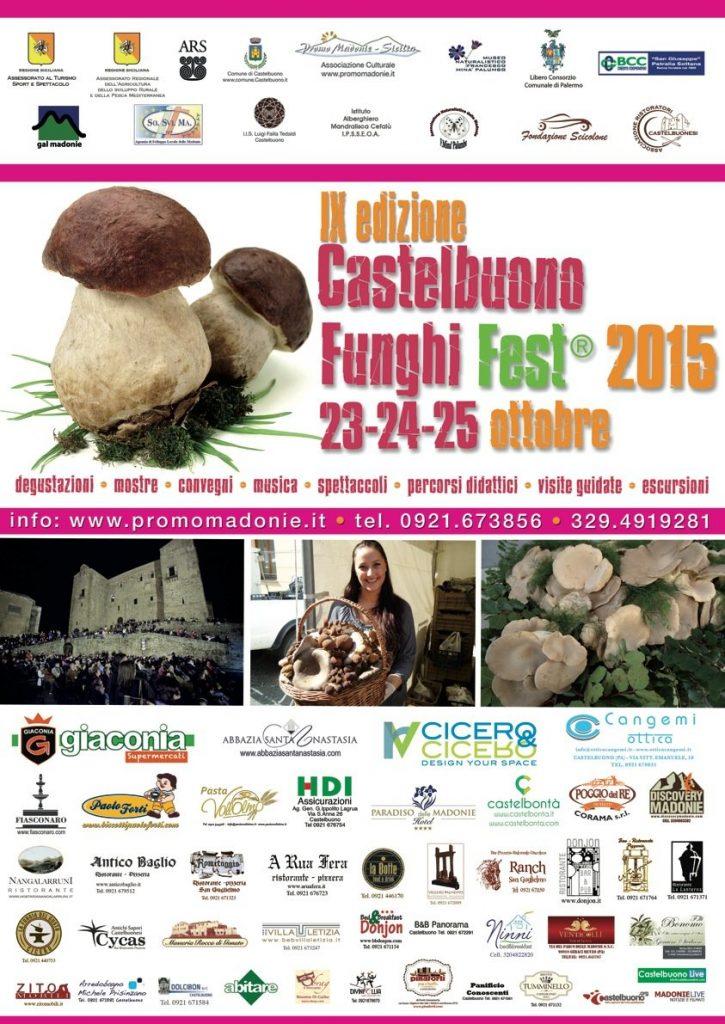 locandina  funghi fest castelbuono