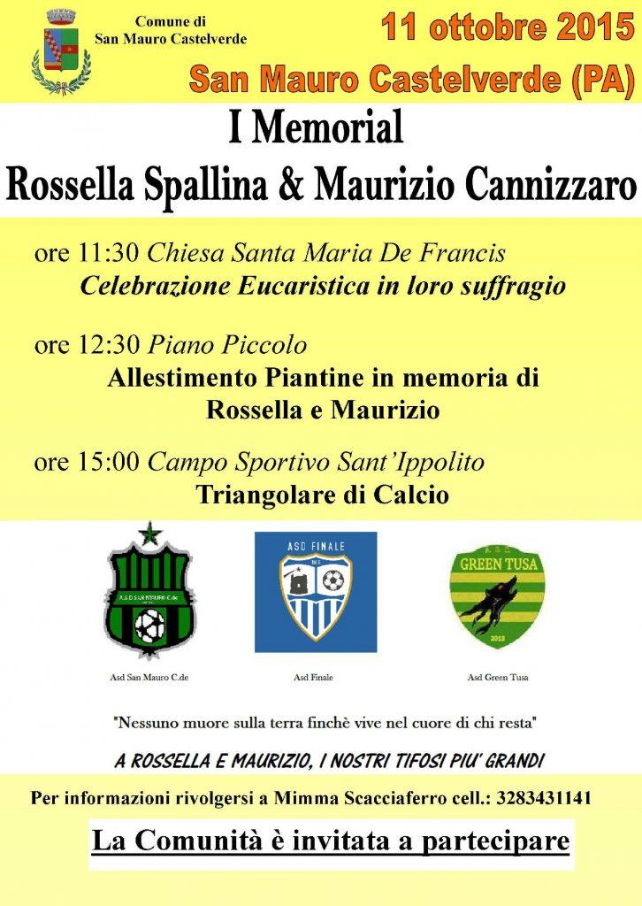 Memoriale Spallina e Cannizzaro