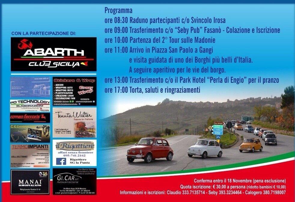 2 tour madonie-programma