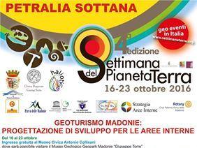 SETTIMANA DEL PIANETA TERRA 16-23 OTTOBRE
