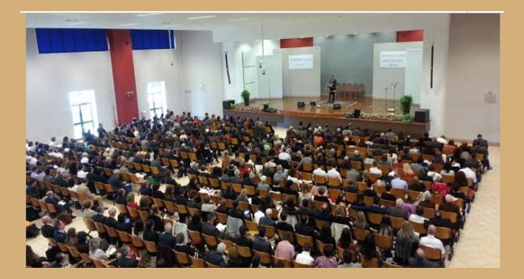 Testimoni di Geova della costa settentrionale  in assemblea a Caltanissetta