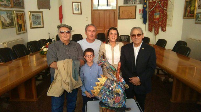 Cerimonia in onore dell'artista Giacomo Giacomarra al Comune di Castellana Sicula