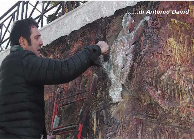 Croce Taravella ha terminato l'opera ad Alia , si inaugura l' 11 Novembre