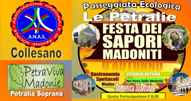 Passeggiata ecologica nelle Petralie il 30 Ottobre