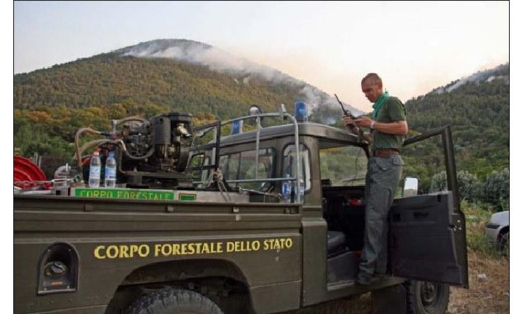 Forestale: Comuni, rischio incendi alto a Gangi, moderato a Castelbuono