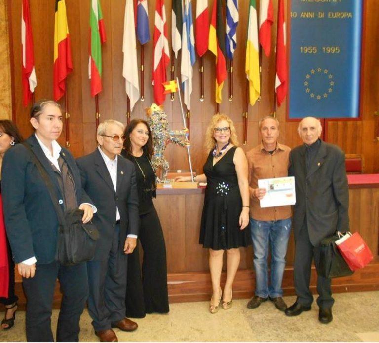 Lo scultore Giacomarra premiato a Messina