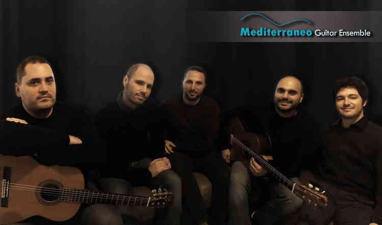 Amici della Musica, 5 chitarre sul palco