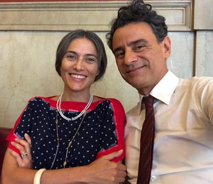 Vincenzo Amato e e Anna Foglietta