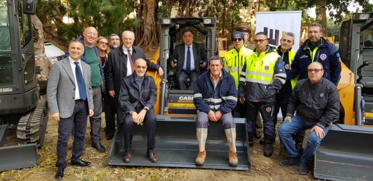 VIABILITA' – Consegnati gli automezzi per le manutenzioni stradali nella rete viaria extraurbana