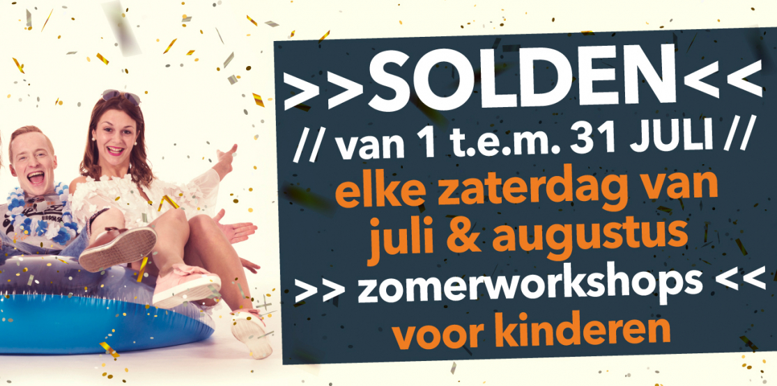 Zomerworkshops in Ninia Shopping Center